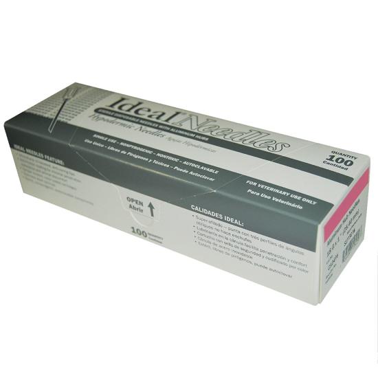 "Picture of Aluminum Hub Needle--18G x 1""--100/pk"