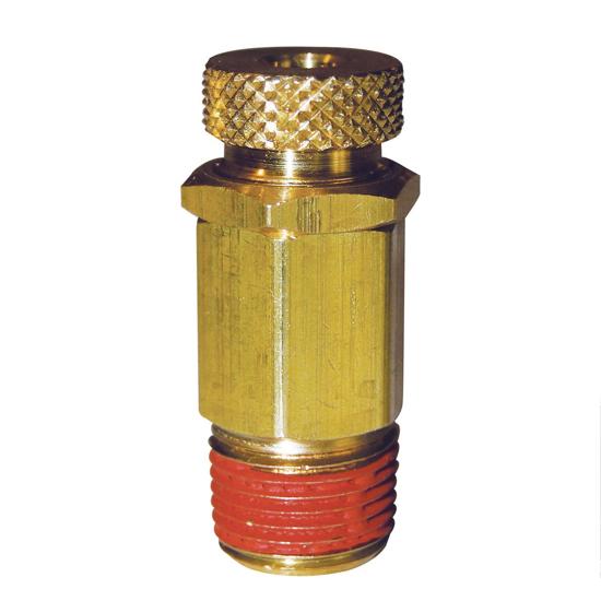 "Picture of Vacuum Relief Valve, Brass Adjustable, 3/8"" NPT"