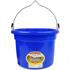 Picture of 8 Quart Plastic Flat-Back Bucket