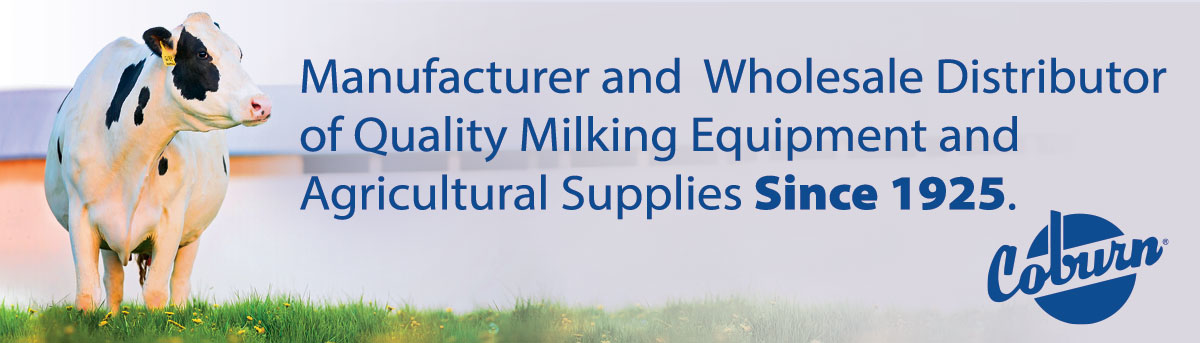 Manufacturer and Wholesale Distributor of Quality Milking and Agricultural Supplies