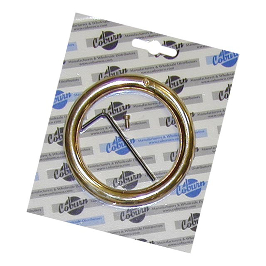 """Picture of 5/16"""" x 2-1/2"""" Bull Ring in Blister Pack"""