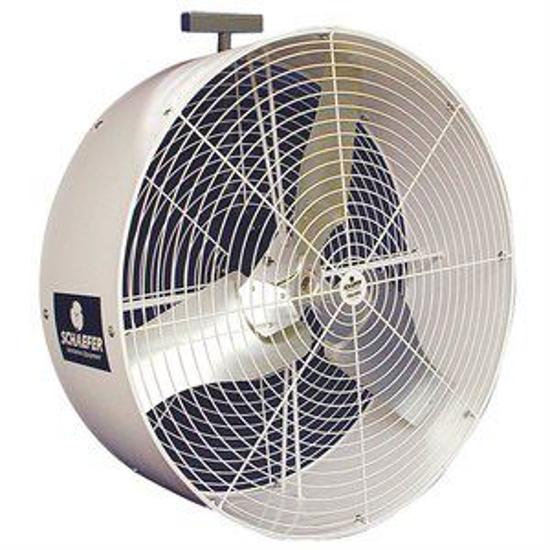 """Picture of 36"""" Schaefer Barn Kooler Fan (1-Speed 230/460V 3-Phase)"""