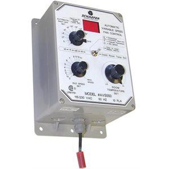 Picture of Digital Speed Modulator w/ Automatic Shut-Off f/Schaefer Fan