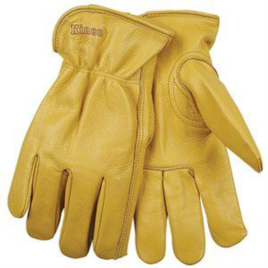 Picture of All-Weather Cowhide Gloves with Elastic Back
